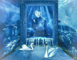 Surreal Aquarium by Renata-s-art