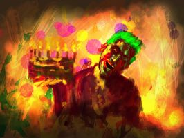 Zombie Joka Happy Badday...... by MilanPad
