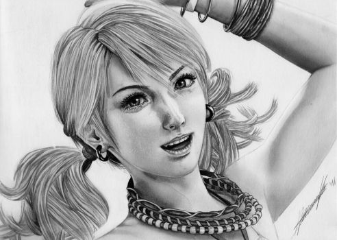 Vanille - Final Fantasy XIII by Dignity13