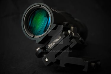 Eotech 4X Magnifier Reflection by bleaches