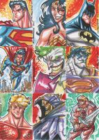 2011 Charity Sketch Cards by theFranchize