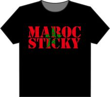 T-shirt MAROC STICKY by sk-design