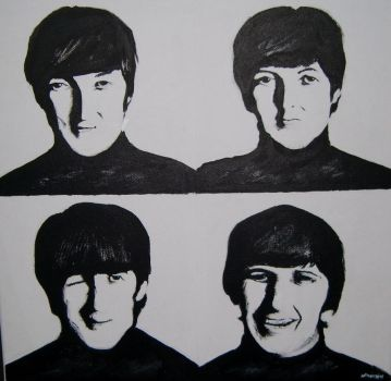 The Beatles by Nataliessecrets