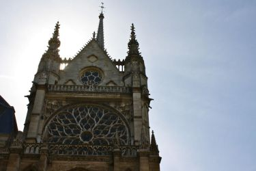 Sainte-Chapelle Exterior by thecitizeneraser
