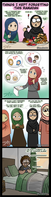 Forgetfulness in Ramadan by Dakarama