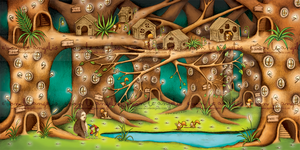 Outside the Gadget City: The Enchanted Forest by evonleangelis
