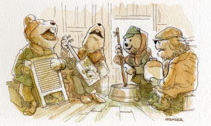 emmit otter's jug band christmas by BrianKesinger