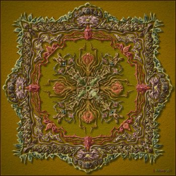 QH-20170809-Flower-and-Garden-Mandala-v5 by quasihedron
