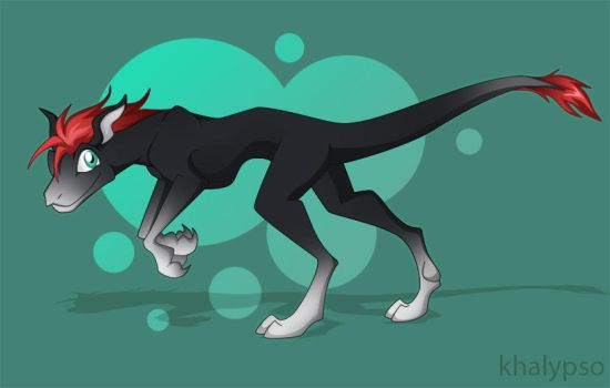 another raptor by Khalypso