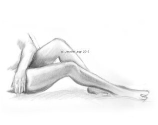 Figure Drawing 1 by jennyleigh