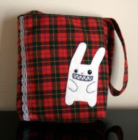 evil bunny bag by yael360