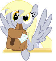 [VECTOR 6x25] AdoraTrixie (Derpy Edition) by AkakunDA