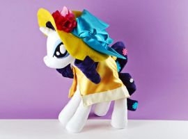 Sweet and Elite Rarity Custom Plush by Eveningarwen