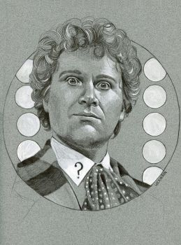 The 6th Doctor from Doctor Who by sarahwilkinson