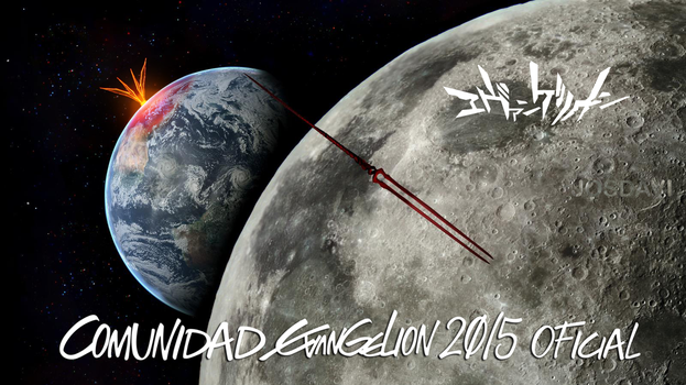 Stage 23. The end on the Moon of Evangelion by josdavi94