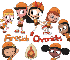 Fireside Chronicles by JuacoProductionsArts