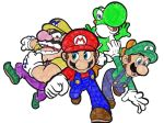 Super Mario 64 DS Crew Coloring Page by TheLuLu99