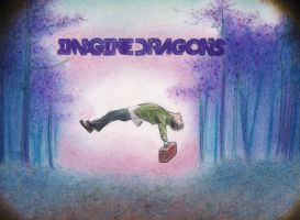Imagine dragons pastels by Larry-the-cucumber