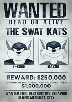 WANTED: THE SWAT KATS by coDDRy