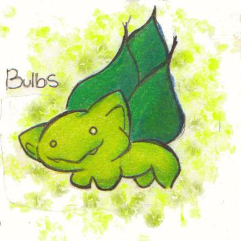 Pokederp: Bulbasaur by pinkynesss