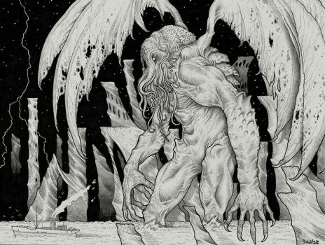 Cthulhu! by Sch1itzie