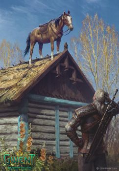 Roach - Gwent card by akreon