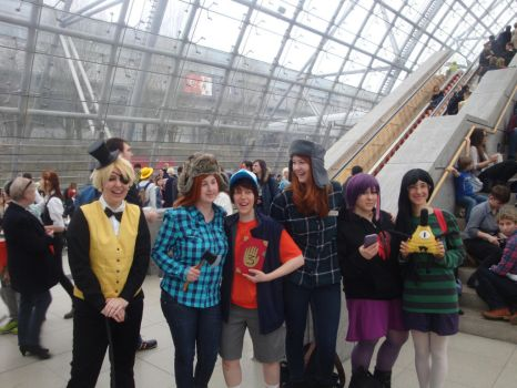 Gravity Falls - Group by 2D-Dipper