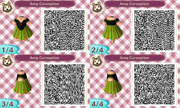 Anna Coronation Gown Pro Design Animal Crossing QR by TorresDesigns