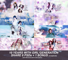 [PSD] 1O YEARS WITH SNSD by mantien