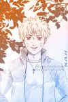 Naruto under the leaves* by MolnjaSketches
