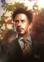 Tony Stark by HolyWiz