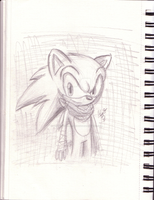 Sonic Boom Sketch by MistrissTheHedgehog