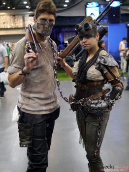 Furiosa and Max  MadMax Furry Road by JessDCosplay