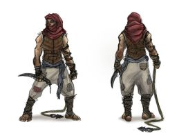 desert assassin by Parkhurst