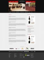 Wine and Gallery homepage by 2NiNe