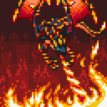 Blaster, Dragon Ruler of Infernos by Kaijira