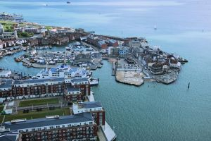 Portsmouth - Old harbor by UdoChristmann