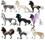 -50% OFF Canines adoptables ( 2/9 OPEN) by SkyWolff