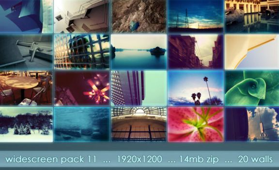 widescreen pack 11 by ether