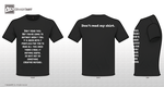 Don't read this shirt and I'll tell you why by SamanthaLi