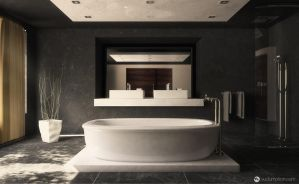 Contemporary Bathroom by vudumotion