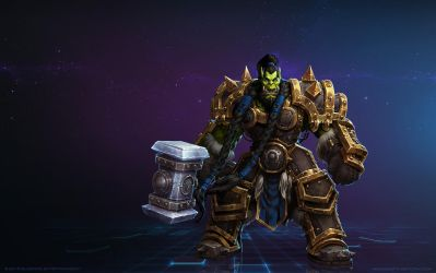 Thrall, Warchief of the Horde by Mr--Jack