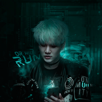 Suga from BTS / Outcast by designML