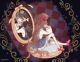 {Pocket Mirror} by PhalanNimue
