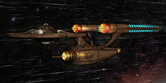 Victorian Steampunk Enterprise TOS  by jeremyschwer