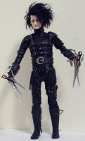 Edward Scissorhands Figure Mod by Shan-Lan