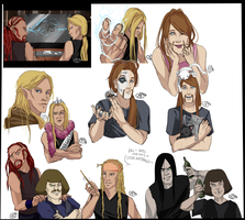 :DoodleNoodle: Even More METALOCALYPSE by NeskaMD