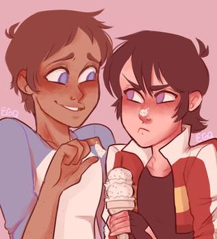 Ice Cream Date! [Klance] by XEpicGameQuestsX