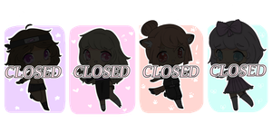 [TEMP. CLOSED] Ninja Girls Adopts by QueenMaxinee