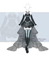 [Close] Adoptable Outfit Auction 235 by LifStrange